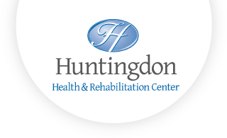 Huntingdon Health and Rehab web logo